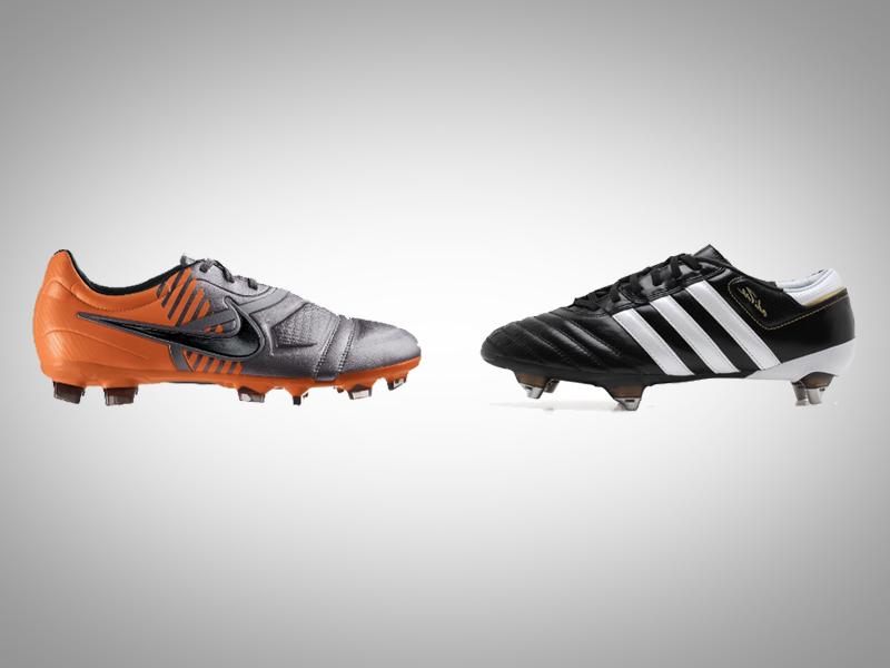 scarpe calcio nike adidas