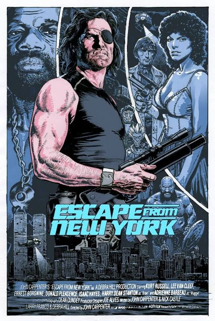 'Escape From New York' by Chris Weston