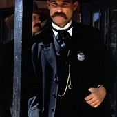 Tombstone, with Kurt Russell as Wyatt Earp