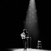 Bob Dylan performing in Princeton, NJ., 1964. Photo by Daniel Kramer