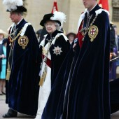 British Royal Family attended the Order Of The Garter Service at St George's Chapel in Windsor