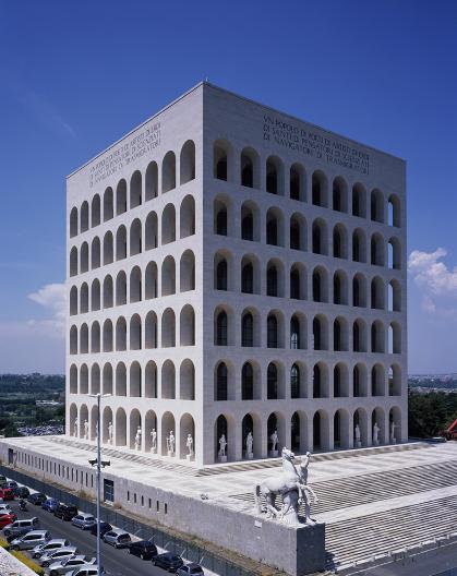 Colosseo Quadrato_Fendi