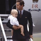 Prince Charles and Prince William, 1983