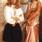 Queen ~ I Want to Break Free video shoot 1984...Roger Taylor and Brian May