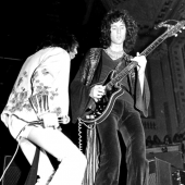 Queen supporting Mott The Hoople in Birmingham, november 1973