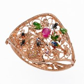 2-the-nest-bracelet-925-pink-silver-enamel-diamonds1
