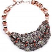 7ART-00-silver-Anomma-ants-enamel-new-necklace-with-diamonds-and-mixed-precious-stones