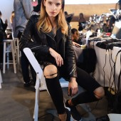 Esmara By Heidi Klum Lidl Fashion Presentation At New York Fashion Week #Letswow - Backstage